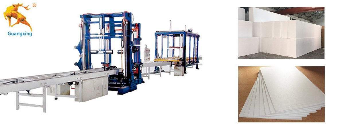 Automatic Continuous EPS-Foam-Cutting Machine1