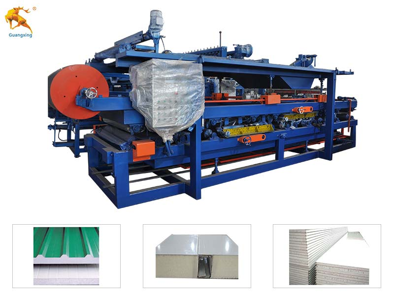 EPS & Rockwool Sandwich Panel Machine