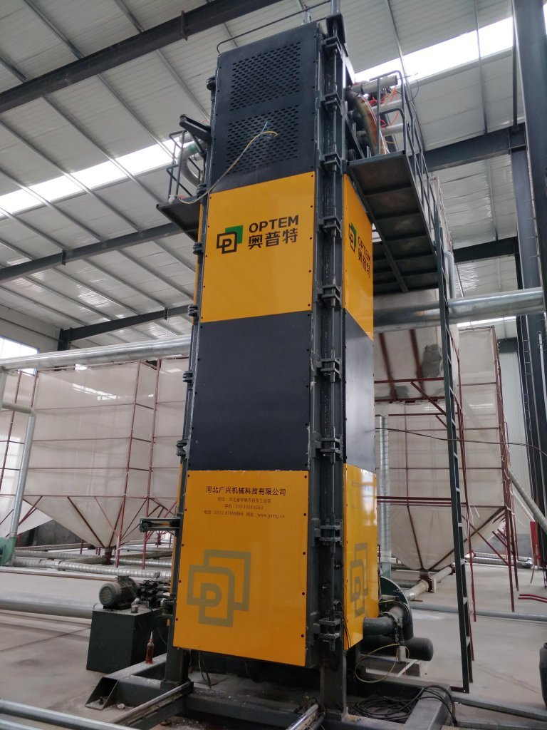 Vertical Foam Block Machine