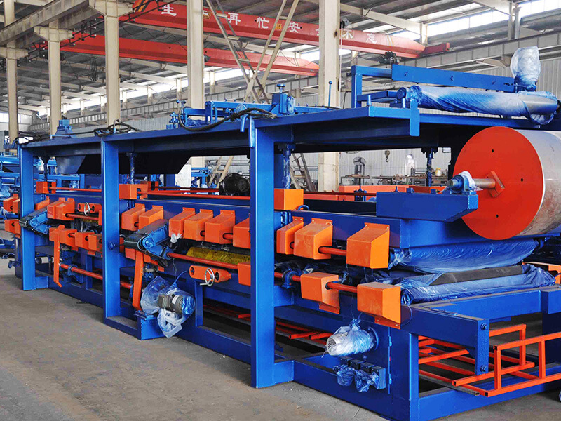 Rock Wool Color Steel Sandwich Panel Machine