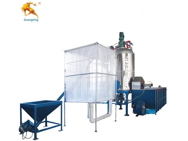 EPS Batch Pre-expander with Second Expansion Machine