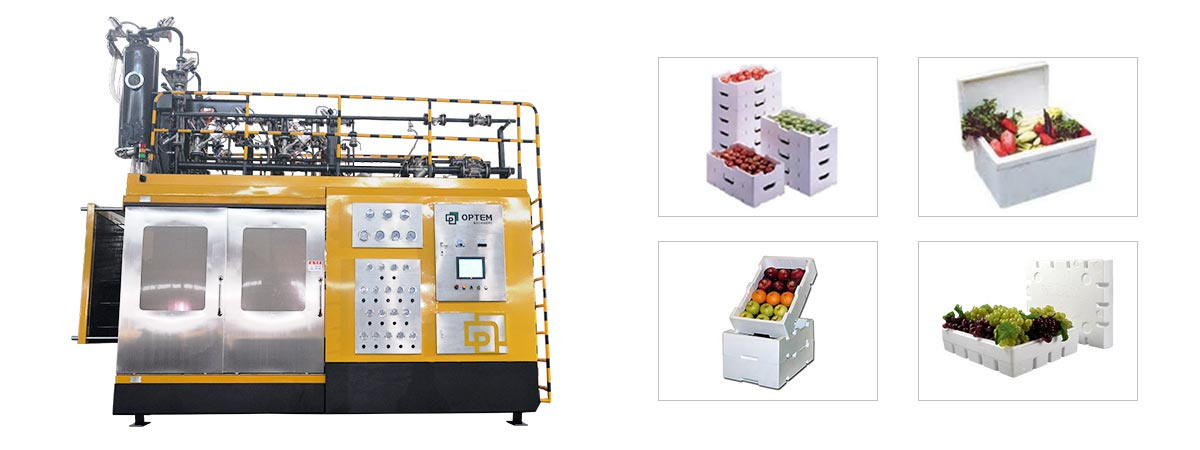 Vegetables Box EPS Shape Moulding-Machine