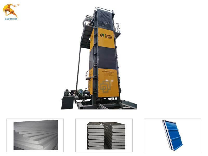 Vertical EPS Block Machine