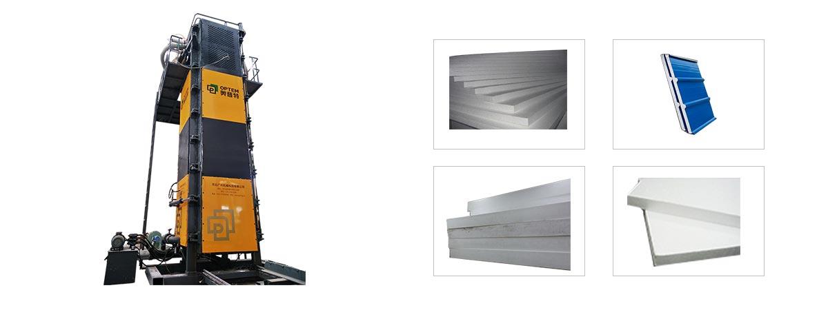 Vertical EPS Block Moulding Machine