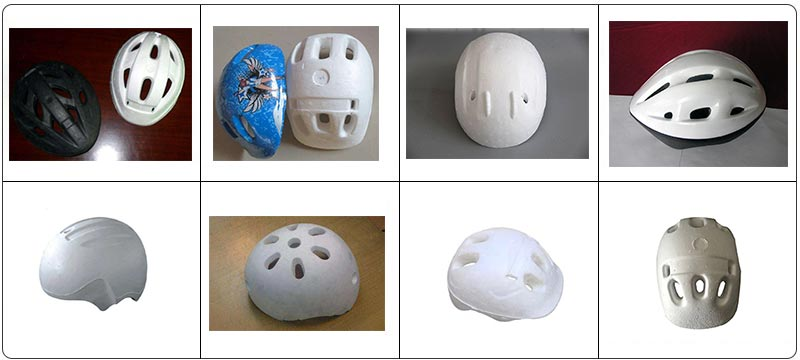 EPS Foam Helmet Mould