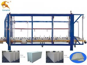 Automatic EPS Block Cutting Line