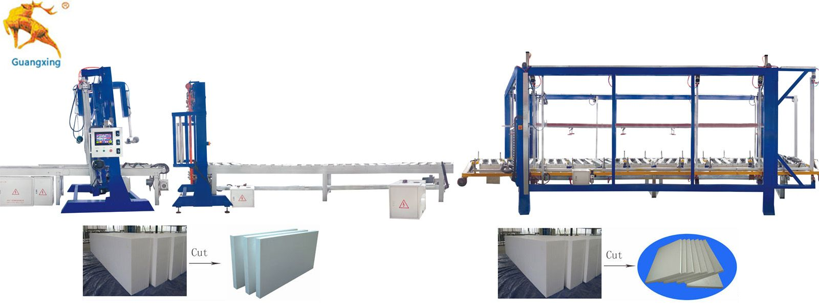 Automatic-EPS-Block Cutting Line