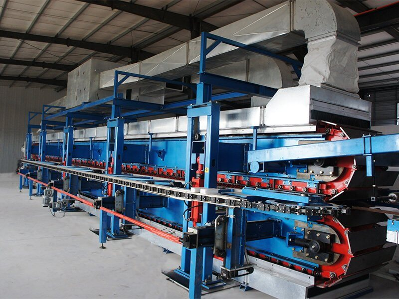 Continuous PUPURPIR Sandwich Panel-Production-Line