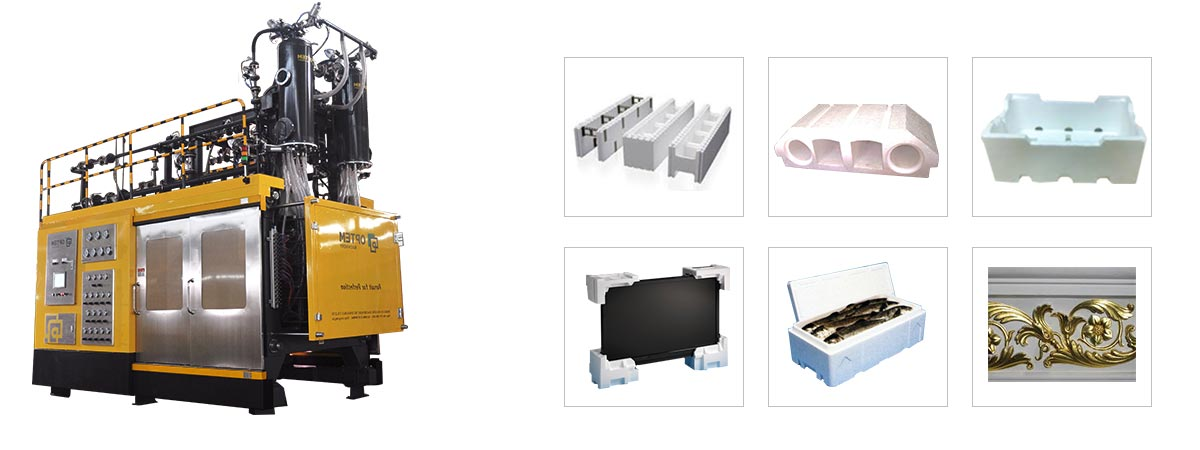 EPS Automatic Vacuum Shape Molding-Machine