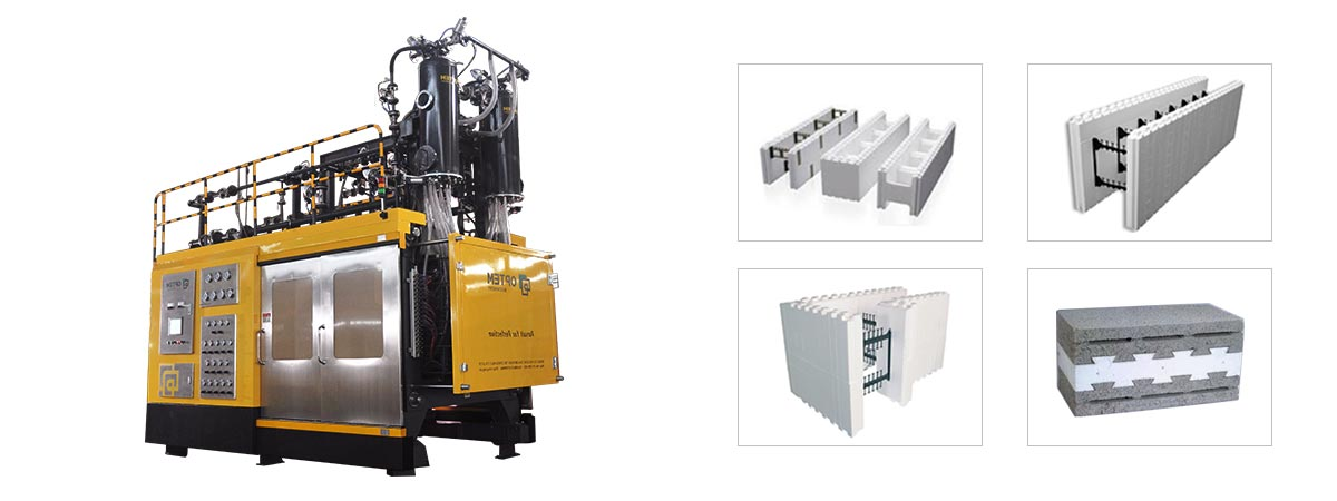 High-Quality Polystyrene ICF Block Making Machine