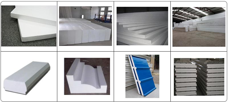 Polystyrene Block Machine Application