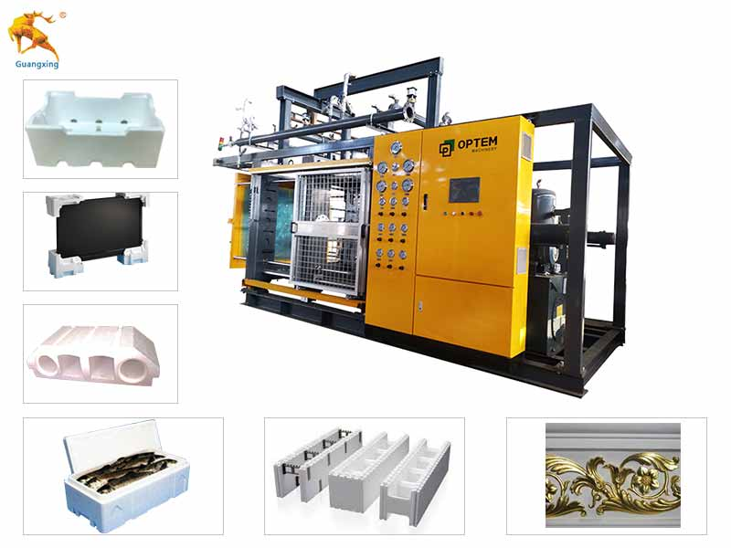 Thermocol Shape Molding Machine