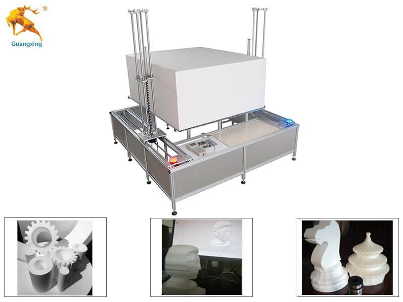 4D CNC EPS Foam Cutting Machine