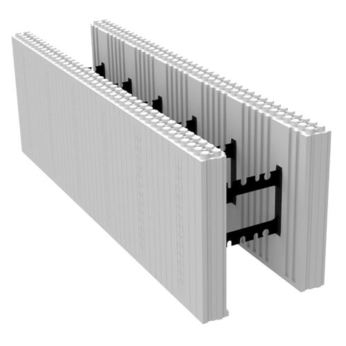 ICF Straight Form – Insulated Concrete Foam Blocks