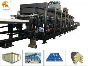 EPS Rockwool Sandwich Panel Machine