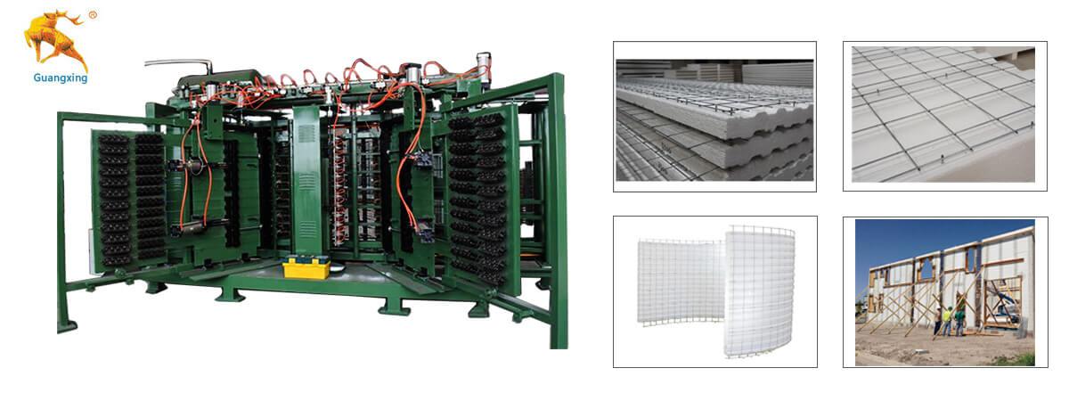Vertical EPS 3D Panel Production-Line