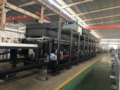 pu sandwich panel-production line