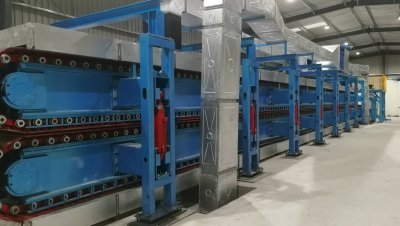India PU Sandwich Production Line
