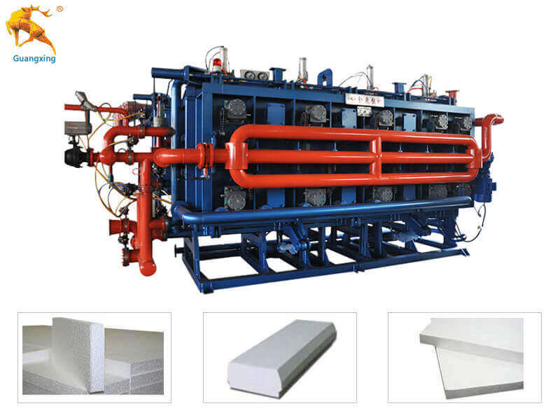 Vacuum Polystyrene Block Moulding Machine