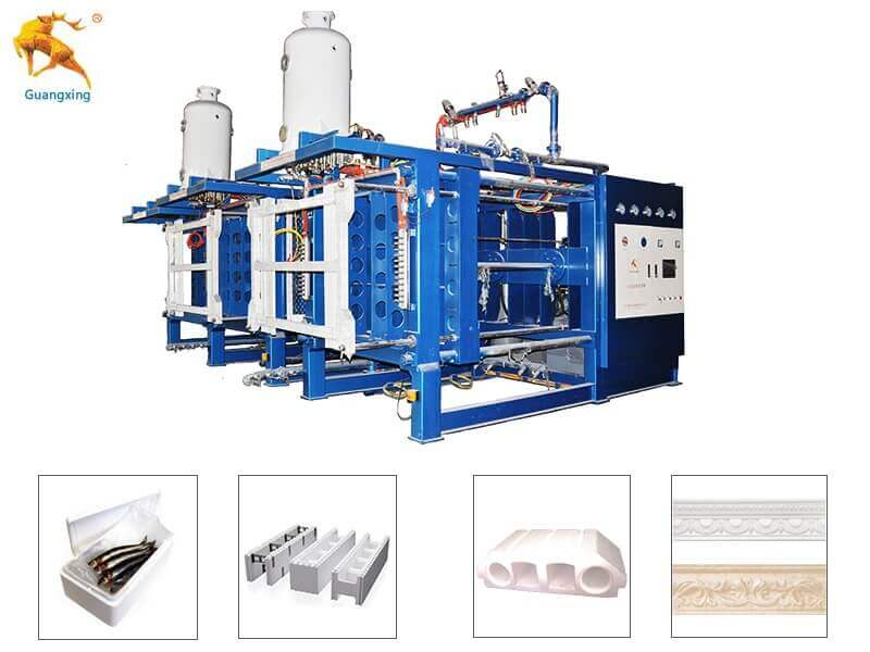 Styrofoam making machine