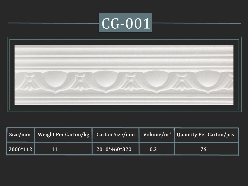 Cornija decorativa CG-001