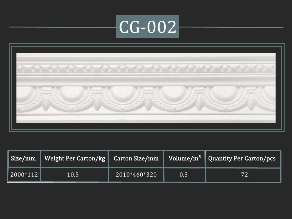 Cornija decorativa CG-002