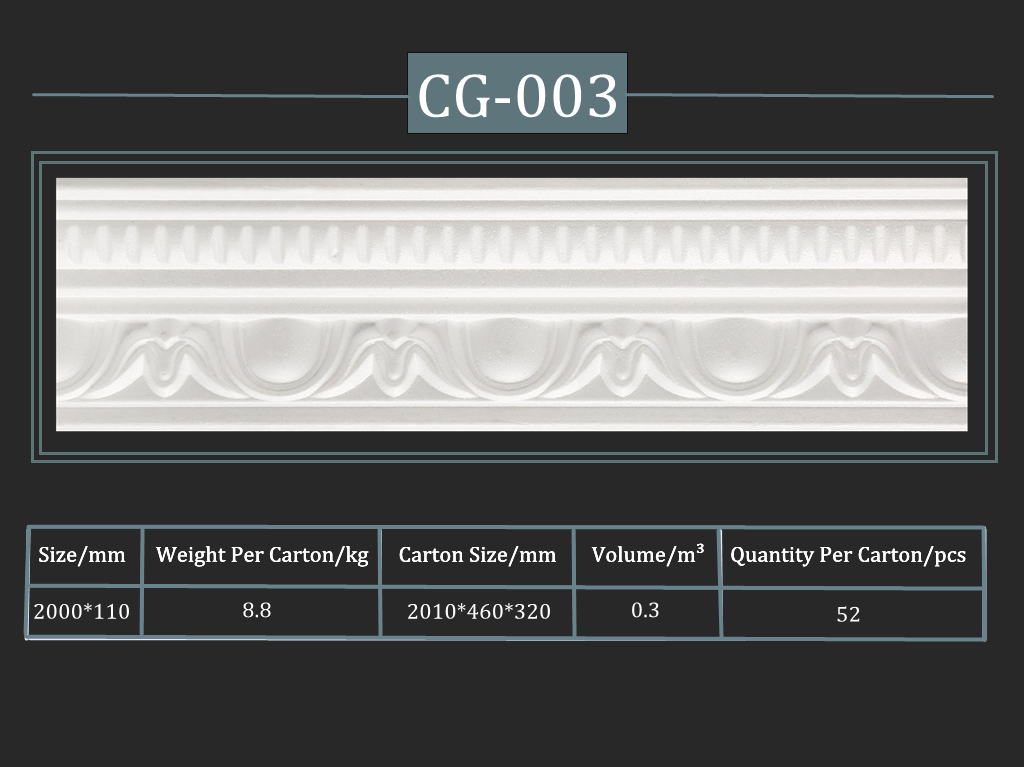 Cornisa decorativa CG-003