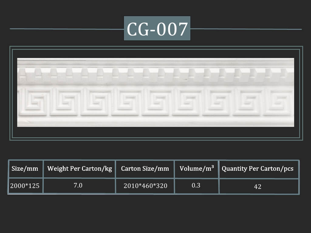 Decorative Cornice CG-007