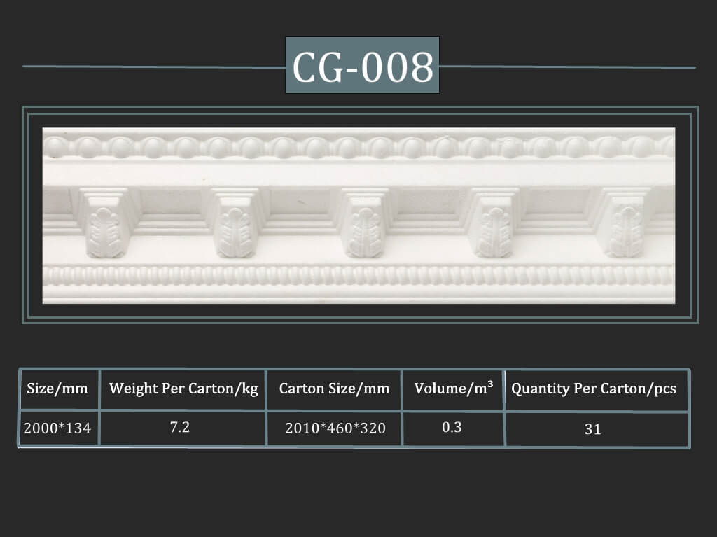 Decorative Cornice CG-008