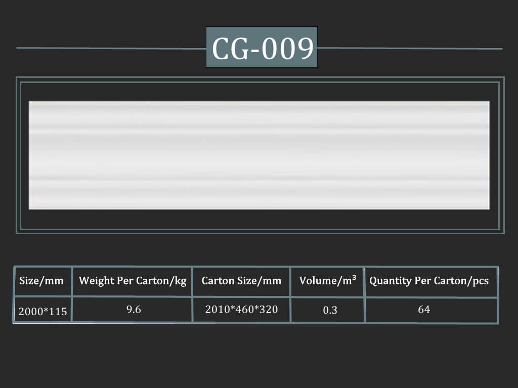 Cornisa decorativa CG-009