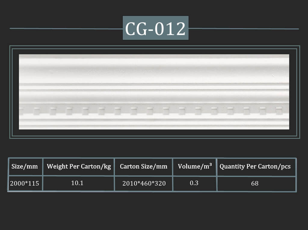 Decorative Cornice CG-012