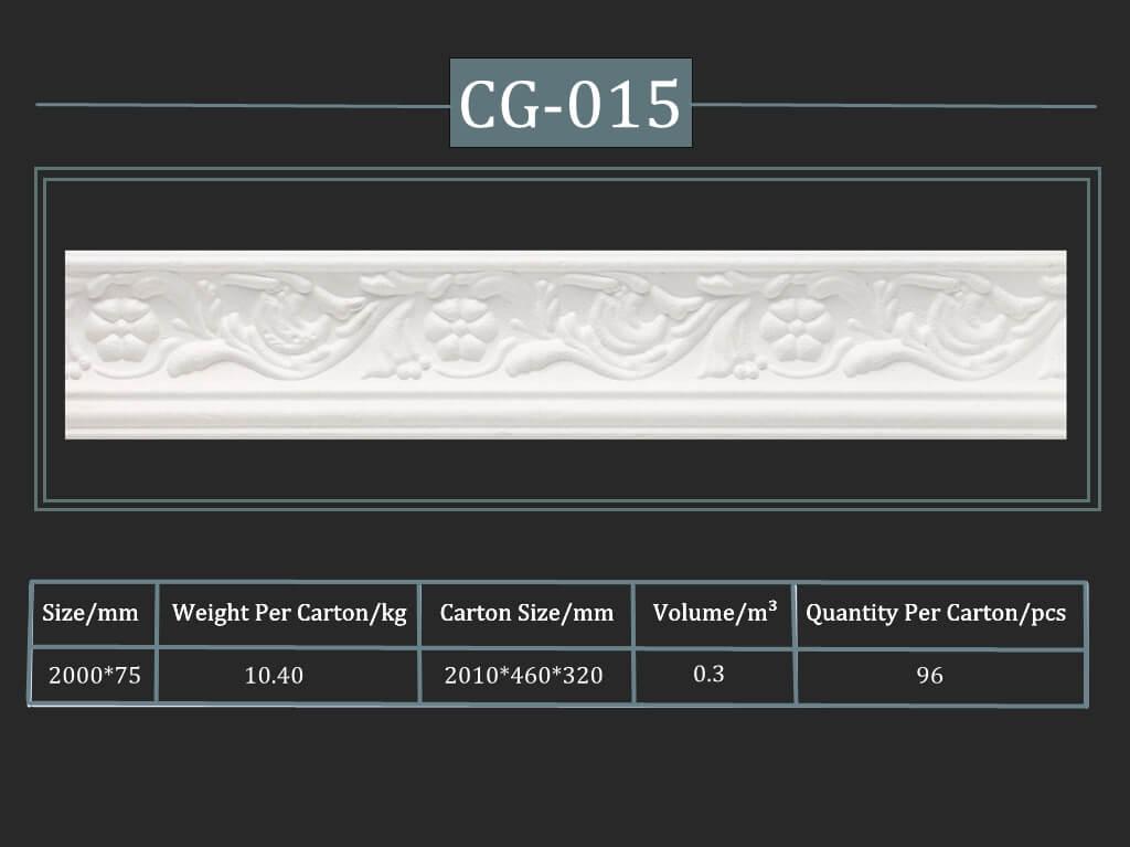 Cornisa decorativa CG-015