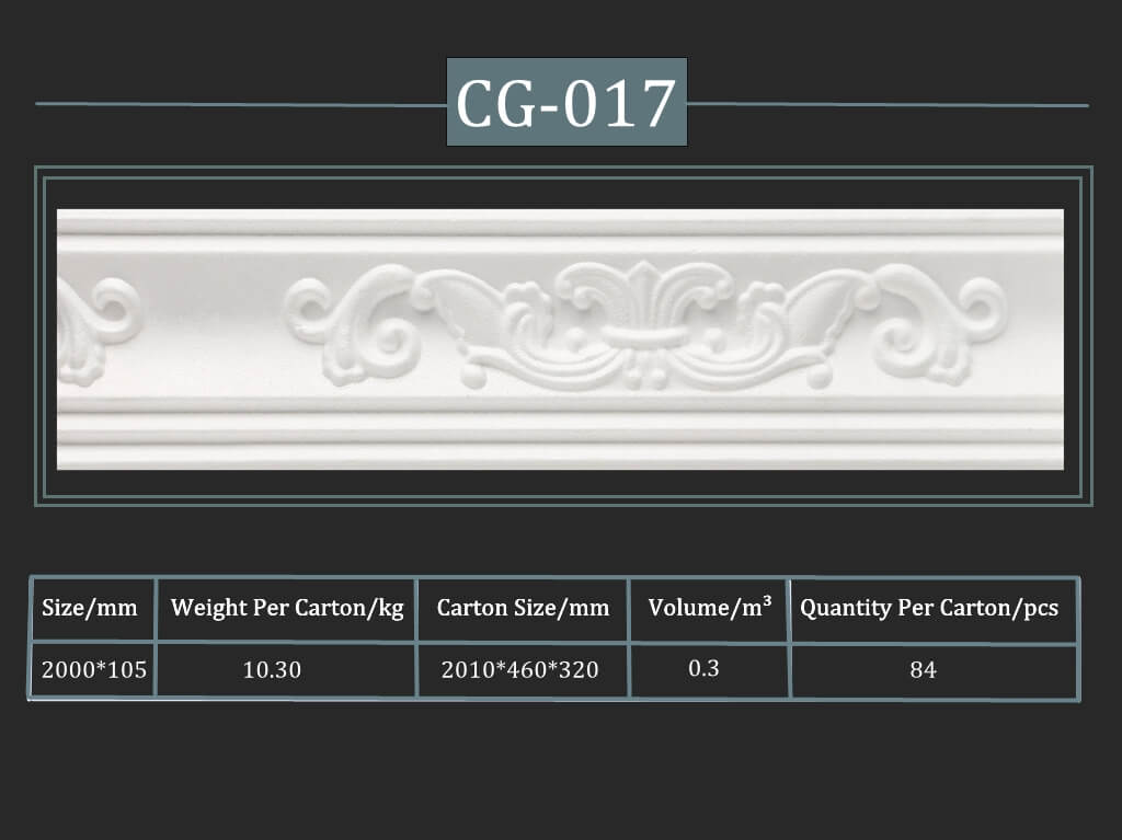 Decorative Cornice CG-017