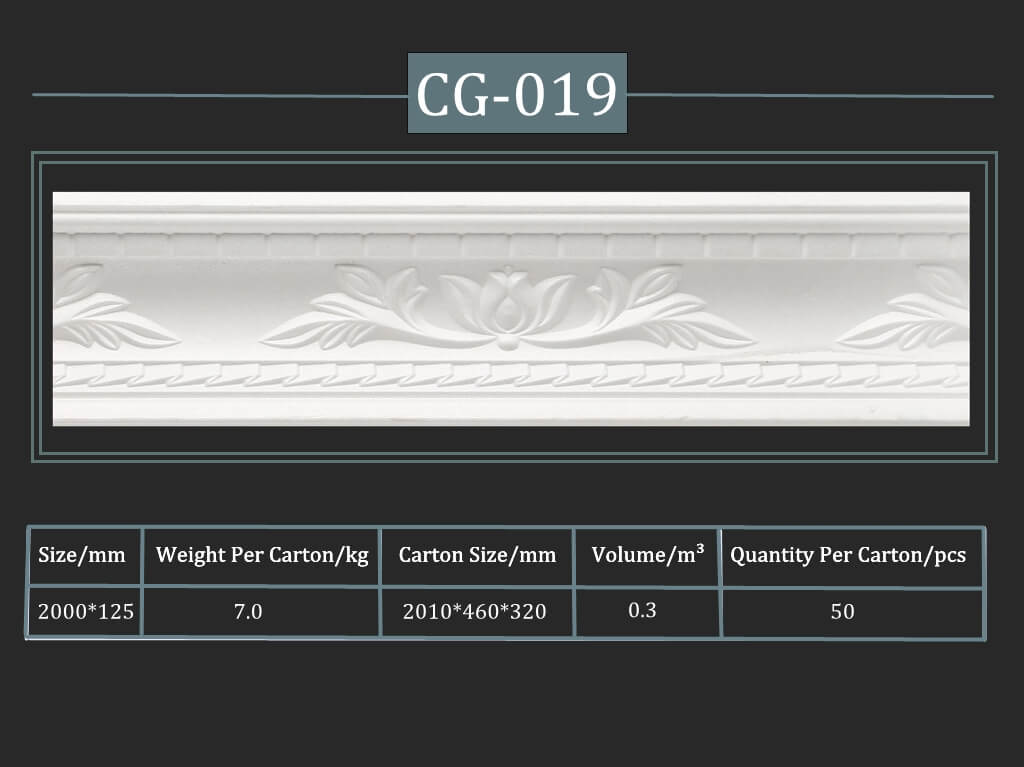Decorative Cornice CG-019