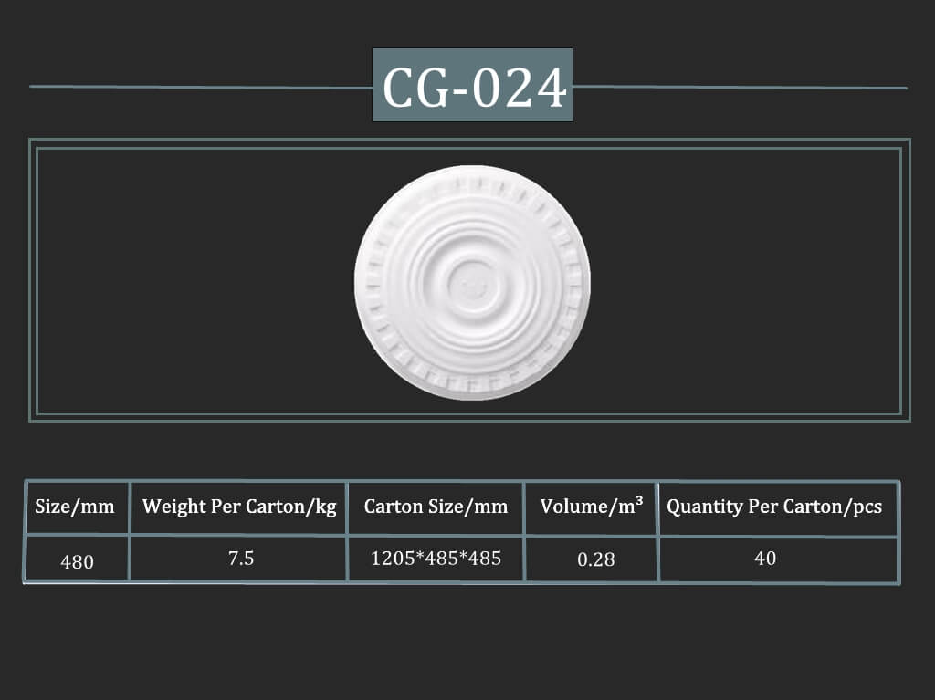 Cornisa decorativa CG-024