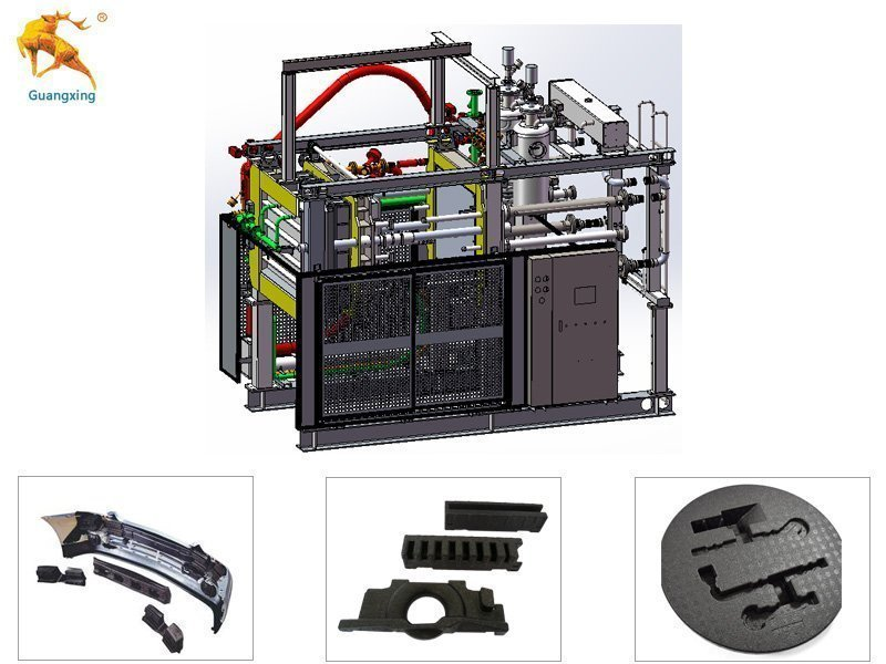 EPP Machine For Car Parts