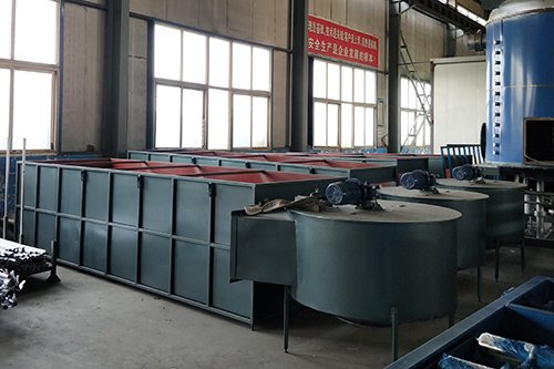 Fluidized drying bed