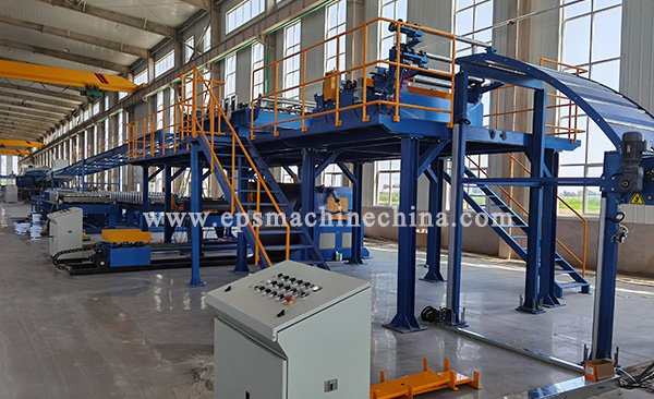 pu sandwich panel machine---1