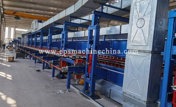 pu sandwich panel machine---3