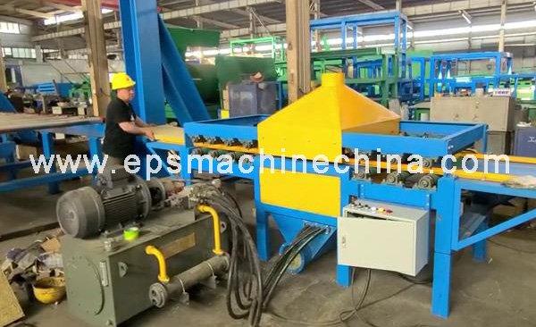 rockwool-cutting machine